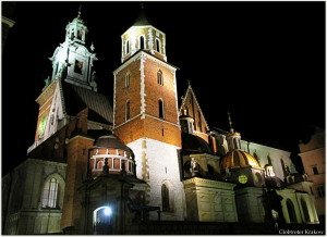 Good night from Cracow... sweet dreams... Dobranoc z Krakowa... kolorowych snów... Cracow by night... Wawel Cathedral... Kraków nocą... Katedra Wawelska...