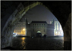 Good night from Cracow... sweet dreams... Dobranoc z Krakowa... kolorowych snów... Barbakan...