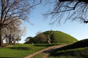 The Krak Mound... Kopiec Kraka