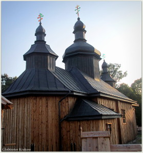 The Orthodox church in Bartne... Cerkiew prawosławna w Bartnem