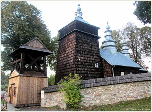 The Orthodox church in Zdynia... Cerkiew prawosławna w Zdyni.