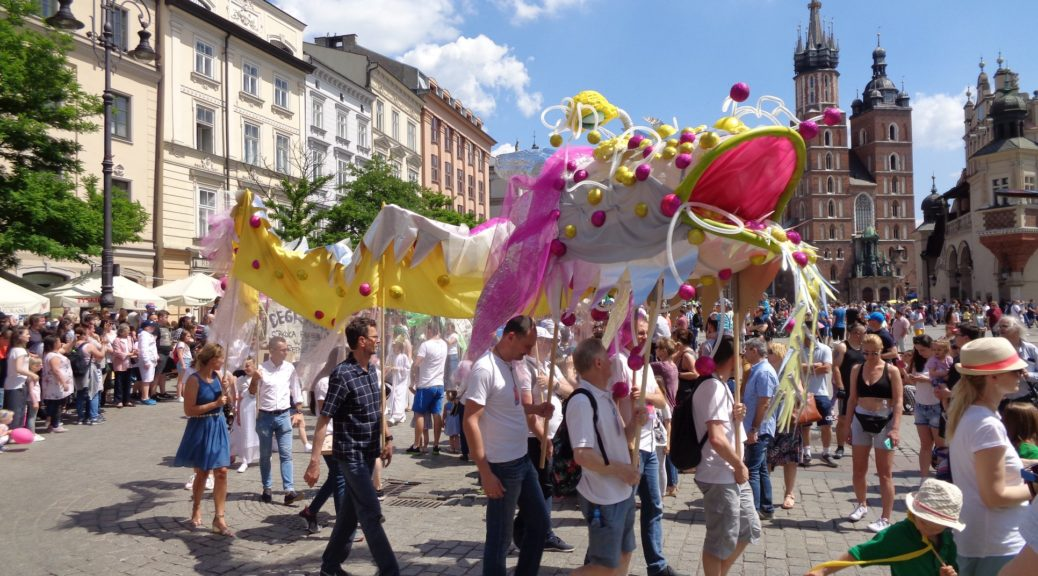 Cracow... Dragons Parade... Kraków ... Parada Smoków