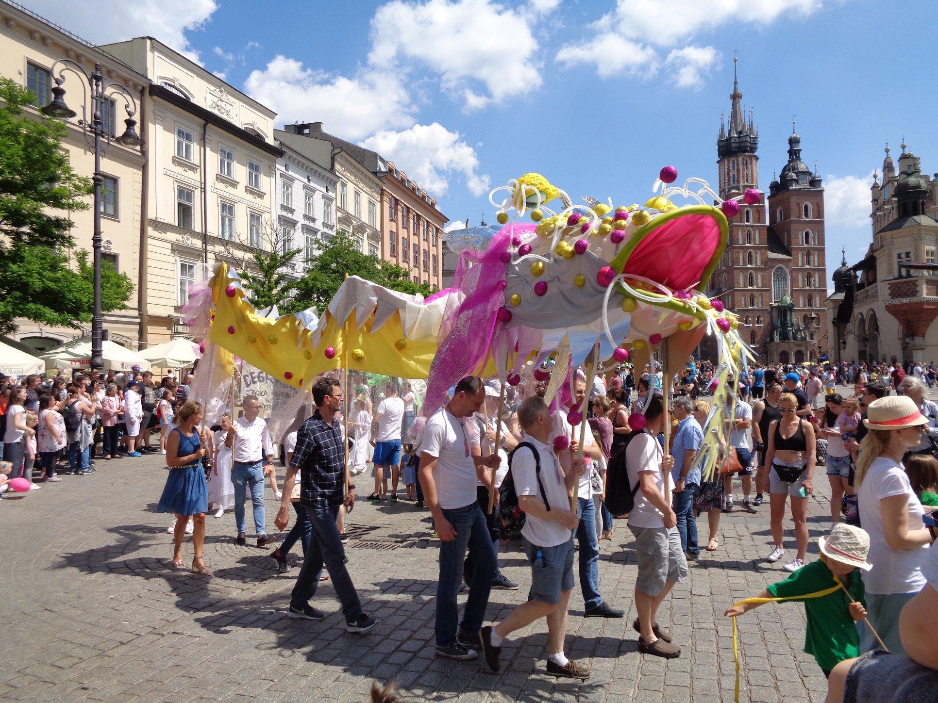 Cracow... Dragons Parade... Kraków ... Parada Smoków